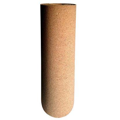 Immagine di Isolante Isosughero, termo-acustico, in agglomerato di sughero nat., dens.180/200 kg/m³, spess.2 mm, rotolo mt 8xh50 cm