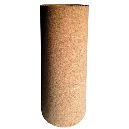 Immagine di Isolante Isosughero, termo-acustico, in agglomerato di sughero nat., dens.180/200 kg/m², spess.4 mm, rotolo mt 8xh50 cm