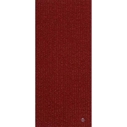 Immagine di Pavimento tessile Project 849, agugliato verticale cannettato, in polipropilene, spessore 4 mm, h 2 mt, colore bordeaux
