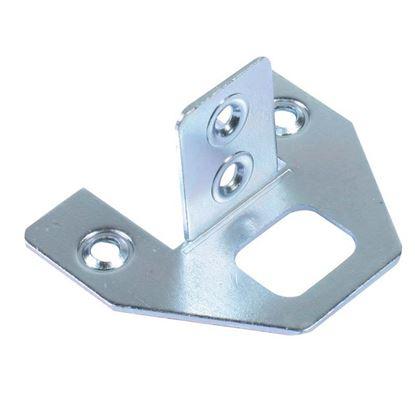Immagine di 4 Attaccaglie ferro zincato
