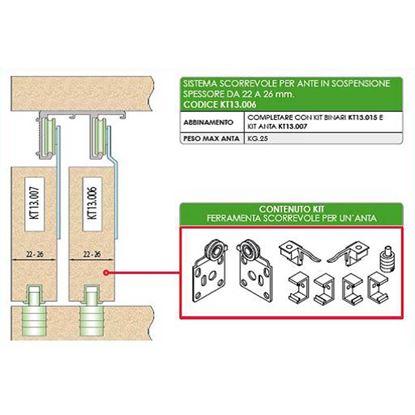 Immagine di Binari per articolo KT13.006 e KT13.009