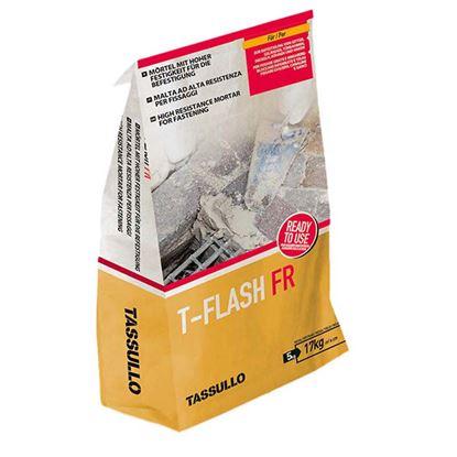 Immagine di Malta Tassullo, rapida ad alta resistenza, per fissaggi e ricostruzione, confezione 5 kg