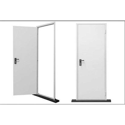 Immagine di Porta tamburata, reversibile, 80x205 cm