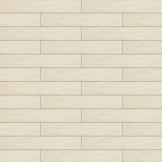 Pavimento vinilico adesivo prime marble beige 15x91 cm - Piastrelle spessore 3 mm ...