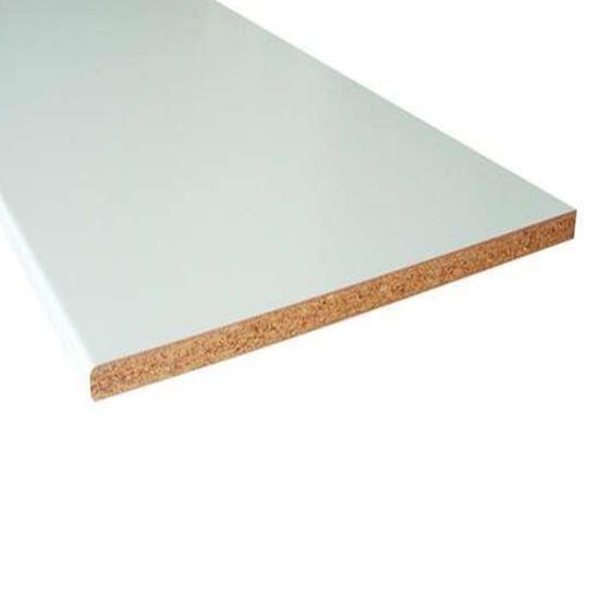 Top cucina, bianco, 28x600x2050 mm, FALEGNAMERIA - Prodotti per ...