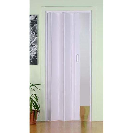 Porta a soffietto giunti rigidi 83xh214 cm colore - Porta a soffietto prezzo ...