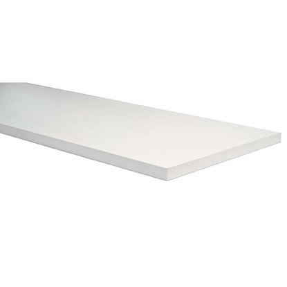 Immagine di Mensola, stondata bianca, 25x250x800  mm