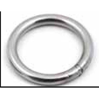 Immagine di Anelli tondi, acciaio inox AISI 316, 3x20 mm, 4 pezzi