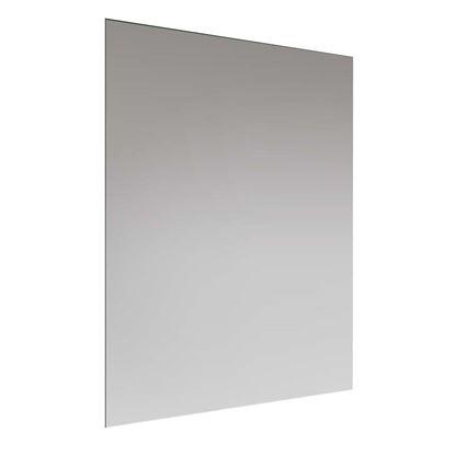 Immagine di Specchio Home, 65x45 cm, filo lucido, telaio appendibile orizzontale o rettangolare