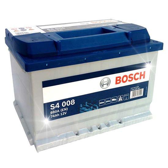 Immagine di Batteria auto Bosch, S4-74 Ah, spunto 680 A, polarità dx