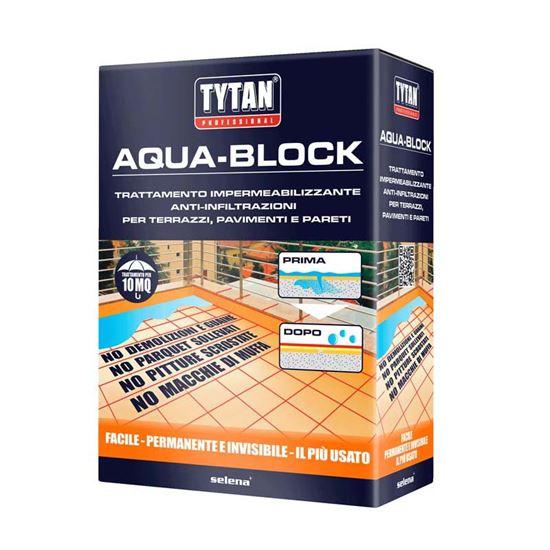Impermeabilizzante Aqua-block, invisibile, per pavimentazioni ...