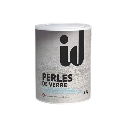 Immagine di Additivo Perle de Verre, per effetto sabbiato, metalizzato, esprit, chic e pitture colorate, 1 lt