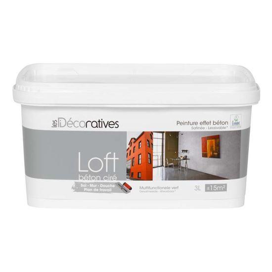 Pittura loft beton cire effetto cemento cerato ideale for Piani di costruzione loft