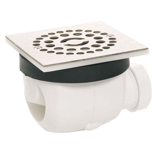 Piletta doccia filo pavimento wirquin griglia inox for Piletta doccia filo pavimento