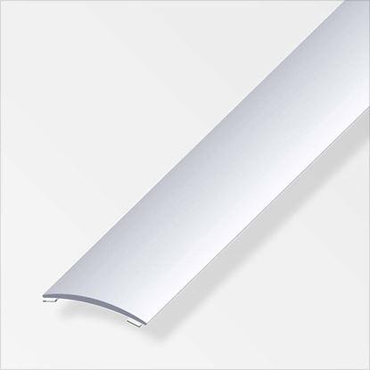 Immagine di Profilo di raccordo autoadesivo, 40x5 mm, 1,0 mt, alluminio argento