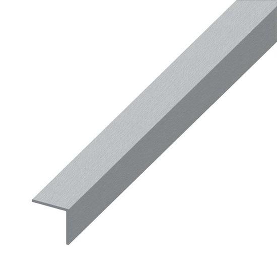 Angolare alluminio inox spazzolato 10x10 mm 1 0 mt for Finestre pvc obi