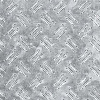 Immagine di Lamiera mandorlata, alluminio naturale, 600x1000x2 mm