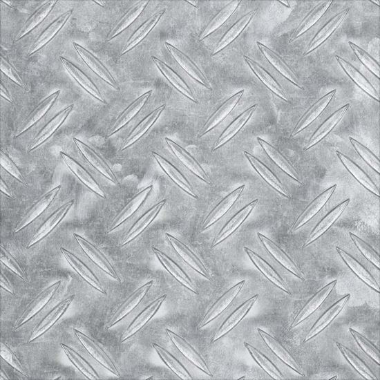 Lamiera Mandorlata Alluminio Naturale 600x1000x2 Mm