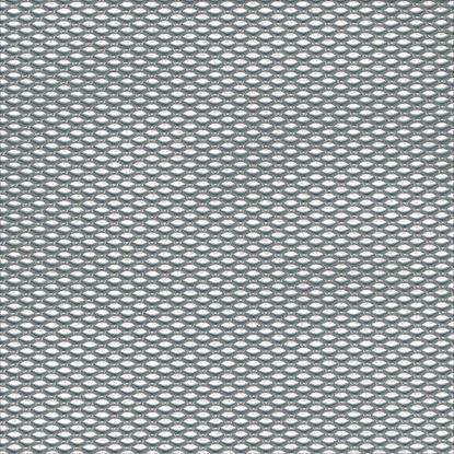 Immagine di Lamiera stirata, alluminio naturale, 120x1000x1,6 mm