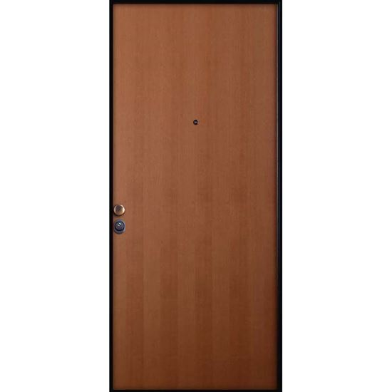 Porta blindata, serratura cilindro europeo, pannelli tanganica medio ...
