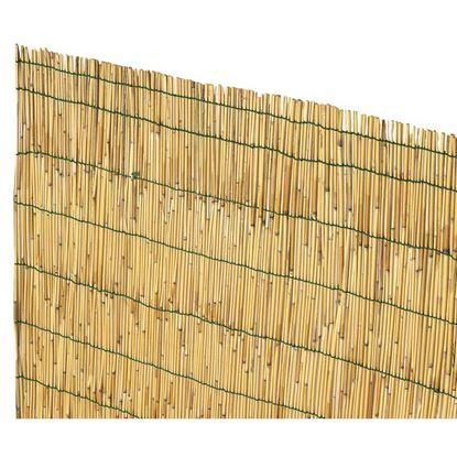 Immagine di Arella Cina, in cannette di bamboo pelato, Ø 4/5 mm, legate con filo plasticato, 3x5 mt