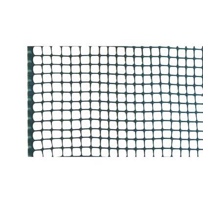 Immagine di Rete mini-quadra, in polipropilene HDPE, colore verde, maglia 5x5 mm, 0,5x5 mt