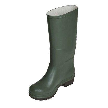 Immagine di Stivale ginocchio, in PVC, suola carrarmato, colore verde, misura 37