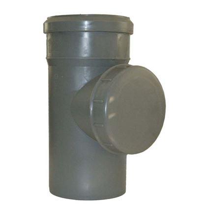 Immagine di Raccordo ispezione HTRE, in polipropilene, con tappo, Ø 90 mm