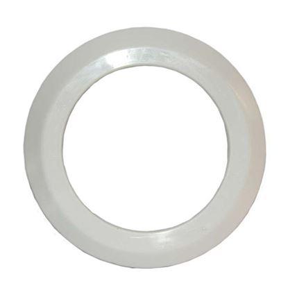 Immagine di Rosone bianco HTSK, in polipropilene, Ø 90 mm