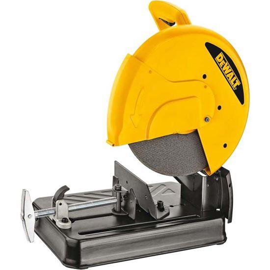 Immagine di Troncatrice Dewalt 2200 W, D28710, per materiali ferrosi, disco Ø 355 mm, capacità di taglio a 90° 115x130 mm