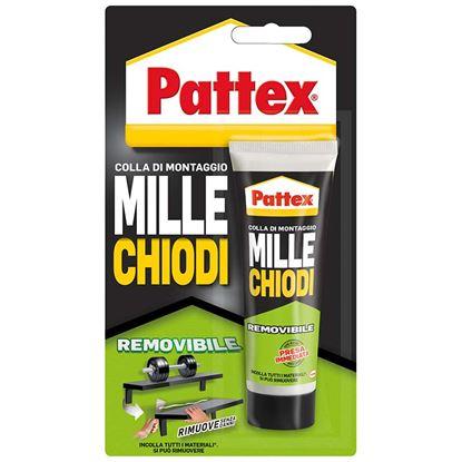 Immagine di Pattex millechiodi removibile, adesivo di montaggio, 100 gr