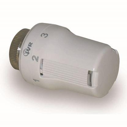 Immagine di Testa termostatica, IVR, Sunny, colore bianco