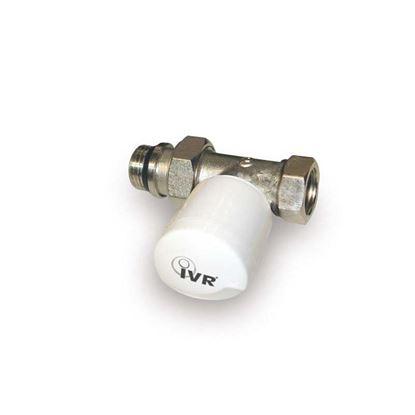 """Immagine di Valvola Saturn, IVR, termostatizzabile, dritta, attacco ferro, 1/2"""""""