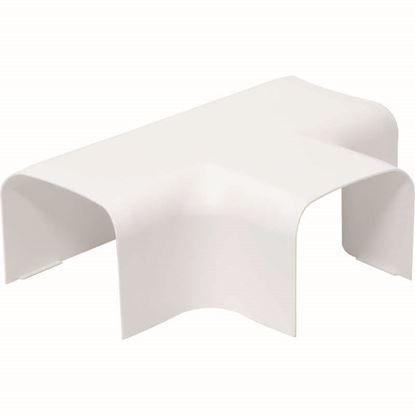 Immagine di Deviazione a T, colore bianco, 80x60 mm