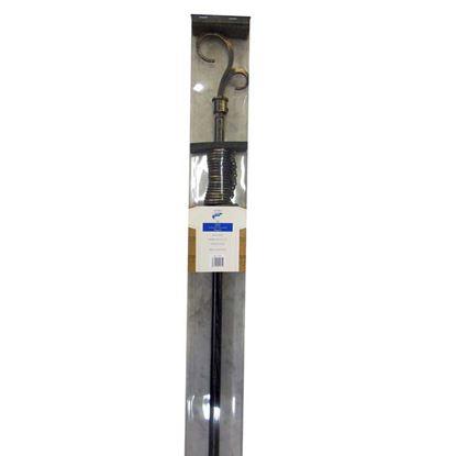 Immagine di Bastone in ferro estensibile, Ø 16/19 mm, lunghezza 170/300 cm