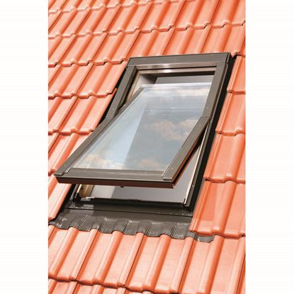 Immagine di Raccordo in acciaio per finestra da tetto 55x98 cm