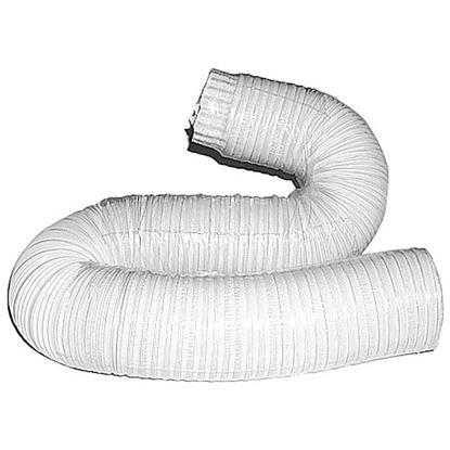 Immagine di Tubo alluminio compresso, colore bianco, 1x3 mt, Ø 140 mm