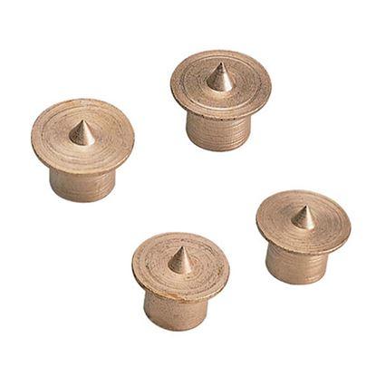 Immagine di Spine in metallo, 4 pezzi, Ø 6 mm
