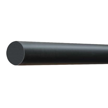Immagine di Palo vetroresina, colore nero, Ø 60 mm, 2,5 mt