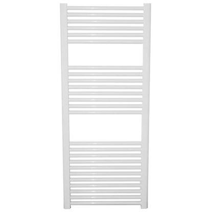 Immagine di Scaldasalviette Giulia, 543 W, 500x1200 mm, interasse 45, colore bianco