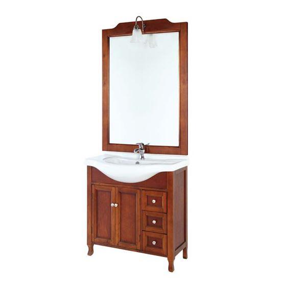 Mobile bagno Stile, arte povera legno massello con consolle in ...
