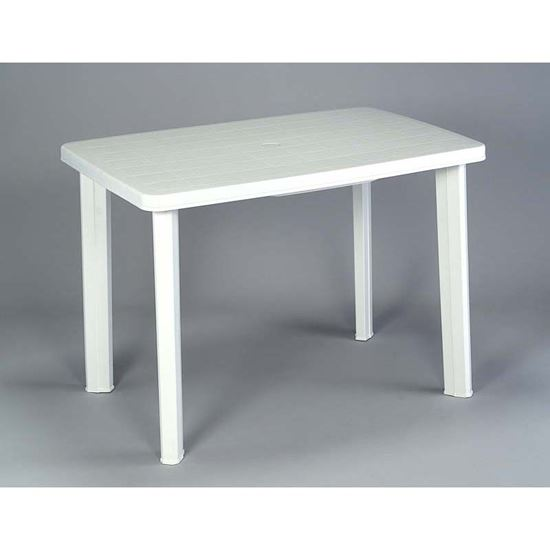 Tavolo faretto classic ovale bianco 102x68x72 cm - Tavolo ovale mondo convenienza ...