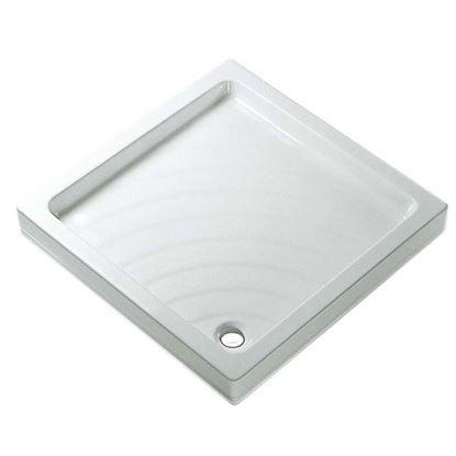 Immagine di Piatto doccia Didone, 70x70, colore bianco