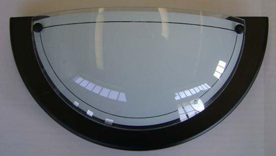 Applique madera e27 60 w colore nero illuminazione ottimax
