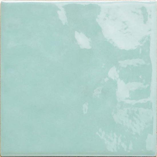 Rivestimento da cucina, 10x10 cm, confezione 1 mq, colore marine ...