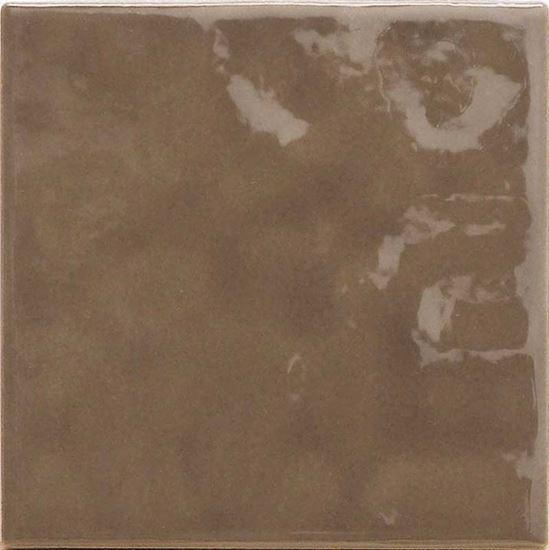 Rivestimento da cucina, 10x10 cm, confezione 1 mq, colore marron ...