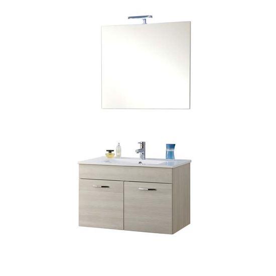 Mobile da bagno rio 2 ante specchio a muro con led ante - Specchio bagno ante ...