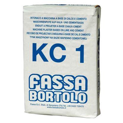 Immagine di KCI intonaco di fondo calce cemento interni esterni x mattoni e calcestruzzo sacchi da 25 kg