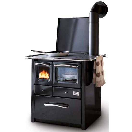 Cucina a legna Royal Gaia 16 kW, resa 72%, Ø fumi 130 mm, colore ...
