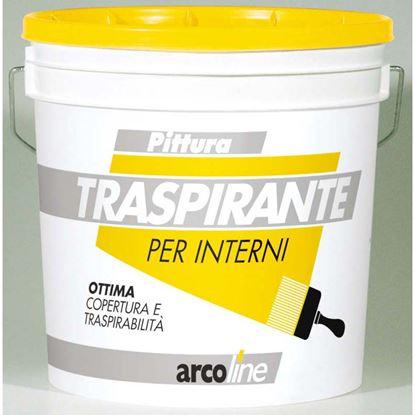 Immagine di Idropittura Arcoline, traspirante, opaca, per interni di qualità superiore, 14 lt